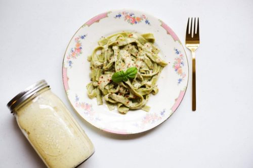 Vegan Alfredo Sauce-Vegan Recipes