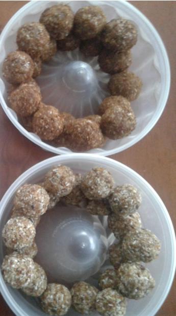 Essential Oil Energy Balls